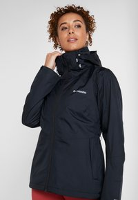 Columbia - WINDGATES JACKET - Hardshell jacket - black - 4