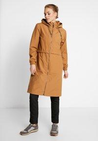 Columbia - FIRWOOD™ LONG JACKET - Waterproof jacket - light elk - 0