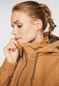 Columbia - FIRWOOD™ LONG JACKET - Waterproof jacket - light elk - 4