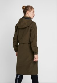 Columbia - FIRWOOD™ LONG JACKET - Waterproof jacket - olive green - 2