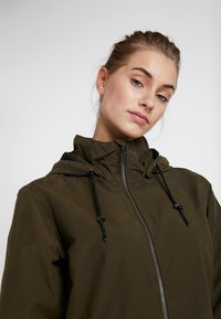 Columbia - FIRWOOD™ LONG JACKET - Waterproof jacket - olive green - 3