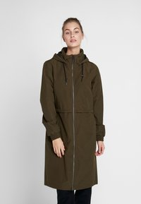 Columbia - FIRWOOD™ LONG JACKET - Waterproof jacket - olive green - 0