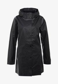 Columbia - OUTDRY EX™ MACKINTOSH JACKET - Hardshell jacket - black heather - 4