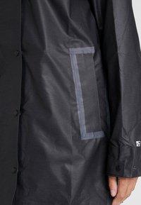 Columbia - OUTDRY EX™ MACKINTOSH JACKET - Hardshell jacket - black heather - 5