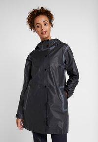 Columbia - OUTDRY EX™ MACKINTOSH JACKET - Hardshell jacket - black heather - 0