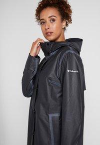 Columbia - OUTDRY EX™ MACKINTOSH JACKET - Hardshell jacket - black heather - 3