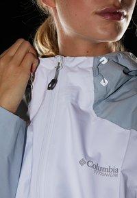 Columbia - TITAN PASS™ - Blouson - white/peach cloud/cirrus grey - 4
