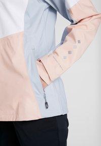 Columbia - TITAN PASS™ - Blouson - white/peach cloud/cirrus grey - 7