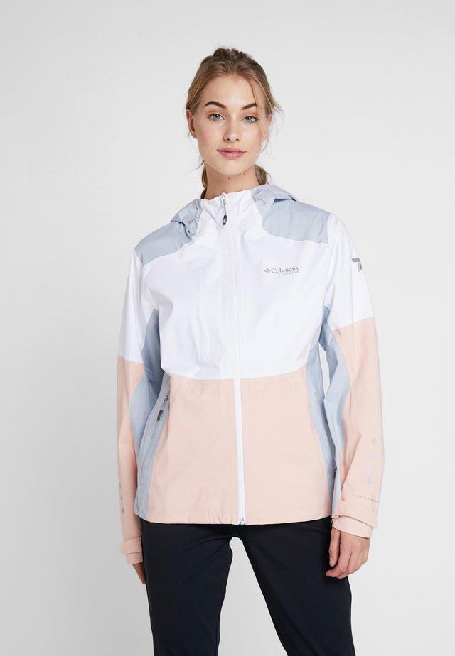 TITAN PASS™ - Kurtka Outdoor - white/peach cloud/cirrus grey
