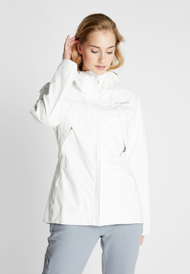 OUTDRY EX™ ECO SHELL - Giacca outdoor - white/undyed energy