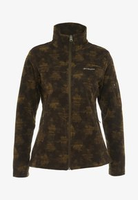 Columbia - FAST TREK PRINTED - Fleecejacke - olive green - 4