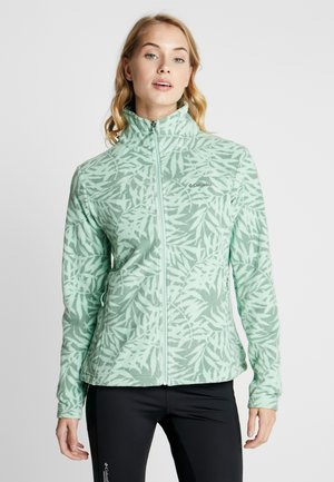 FAST TREK™ LIGHT PRINTED FULL ZIP - Forro polar - new mint bamboo