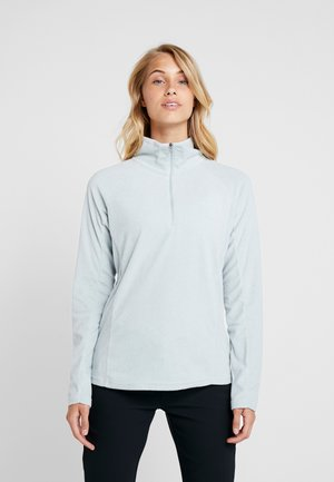GLACIAL IV PRINT 1/2 ZIP - Fleece jumper - cirrus grey