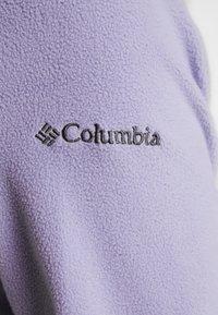 Columbia - GLACIAL IV 1/2 ZIP - Felpa in pile - dusty iris/twilight - 5