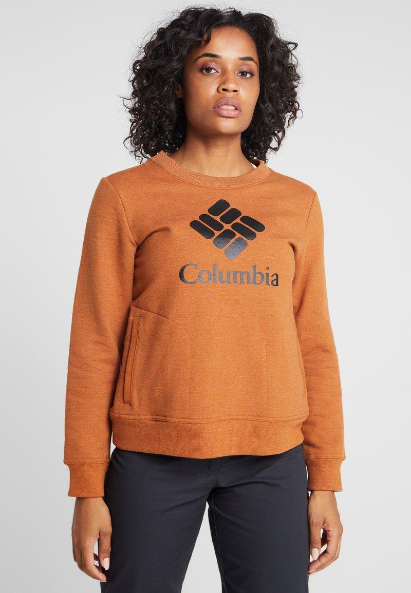 Columbia - LODGE CREW - Felpa - caramel