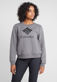 Columbia - LODGE CREW - Mikina - city grey heather - 0