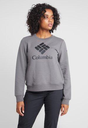 LODGE CREW - Sweatshirt - city grey heather