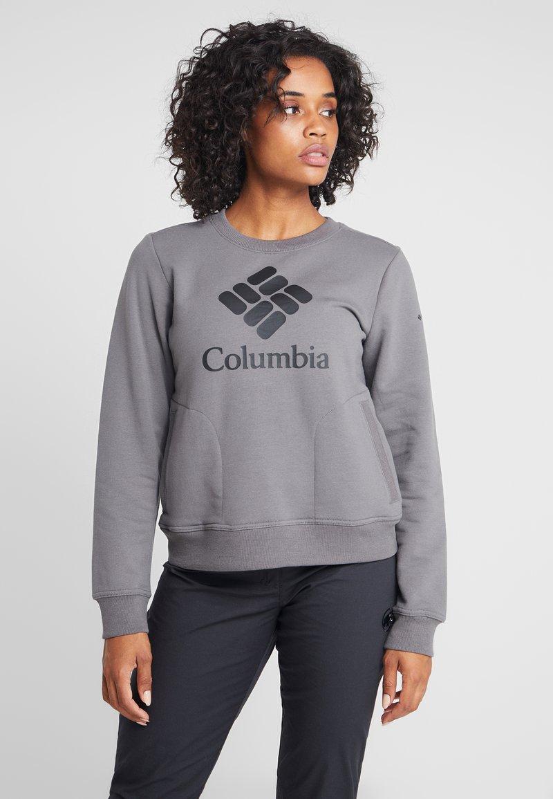 Columbia - LODGE CREW - Mikina - city grey heather