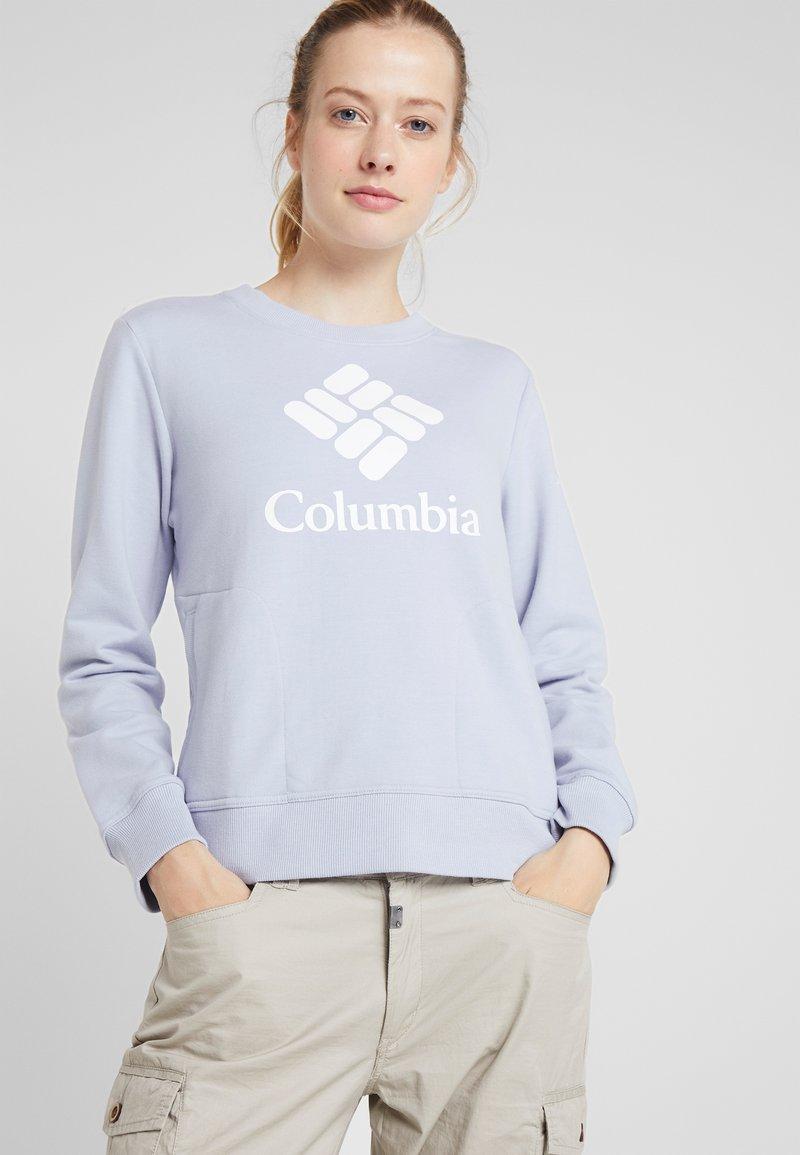 Columbia - LODGE CREW - Bluza - lilac