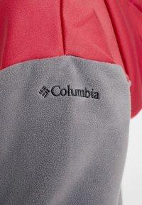 Columbia - EXPLORATION ANORAK - Felpa con cappuccio - city grey/daredevil - 5