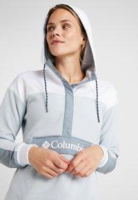 Columbia - EXPLORATION ANORAK - Hoodie - cirrus grey/white - 3