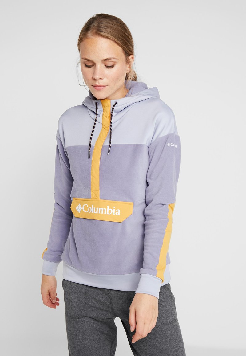 Columbia - EXPLORATION ANORAK - Jersey con capucha - dusty iris/twilight