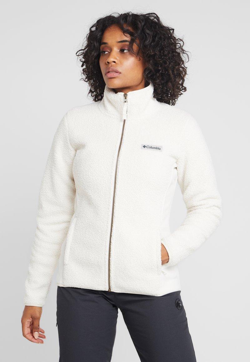 Columbia - PANORAMA  - Fleece jacket - chalk