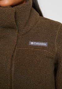 Columbia - PANORAMA LONG JACKET - Fleecejakke - olive green - 6