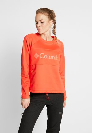 WINDGATES™ CREW - Fleece jumper - bright poppy