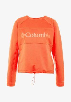 WINDGATES™ CREW - Fleece jumper - bright poppy