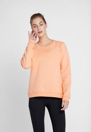 LOGO CREW - Sweatshirt - bright nectar