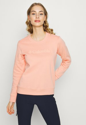 LOGO CREW - Sweatshirt - peach cloud