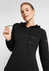 Columbia - LOGO HOODIE - Sweat à capuche - black - 3