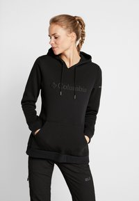 Columbia - LOGO HOODIE - Sweat à capuche - black - 0