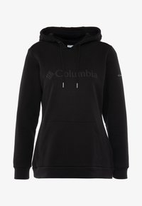 Columbia - LOGO HOODIE - Sweat à capuche - black - 4