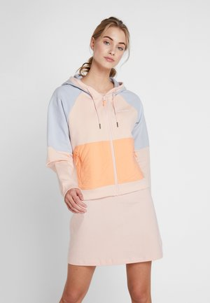 LODGE™  - Zip-up hoodie - peach cloud/cirrus grey/bright nectar