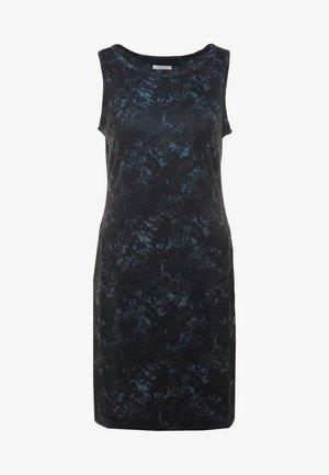 CHILL RIVER PRINTED DRESS - Robe fourreau - black