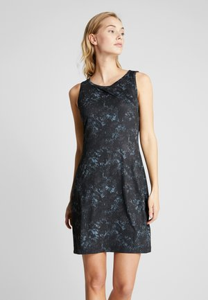 CHILL RIVER PRINTED DRESS - Shift dress - black