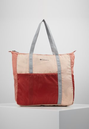 LIGHTWEIGHT PACKABLE 21L TOTE - Bolsa de deporte - peach cloud/dusty crimson