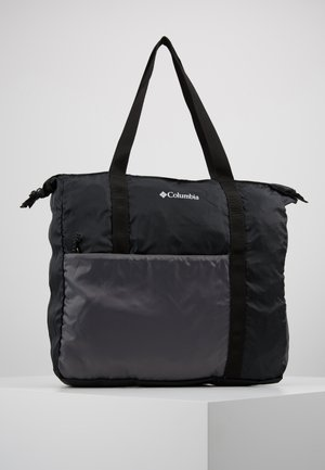 LIGHTWEIGHT PACKABLE 21L TOTE - Treningsbag - black/city grey