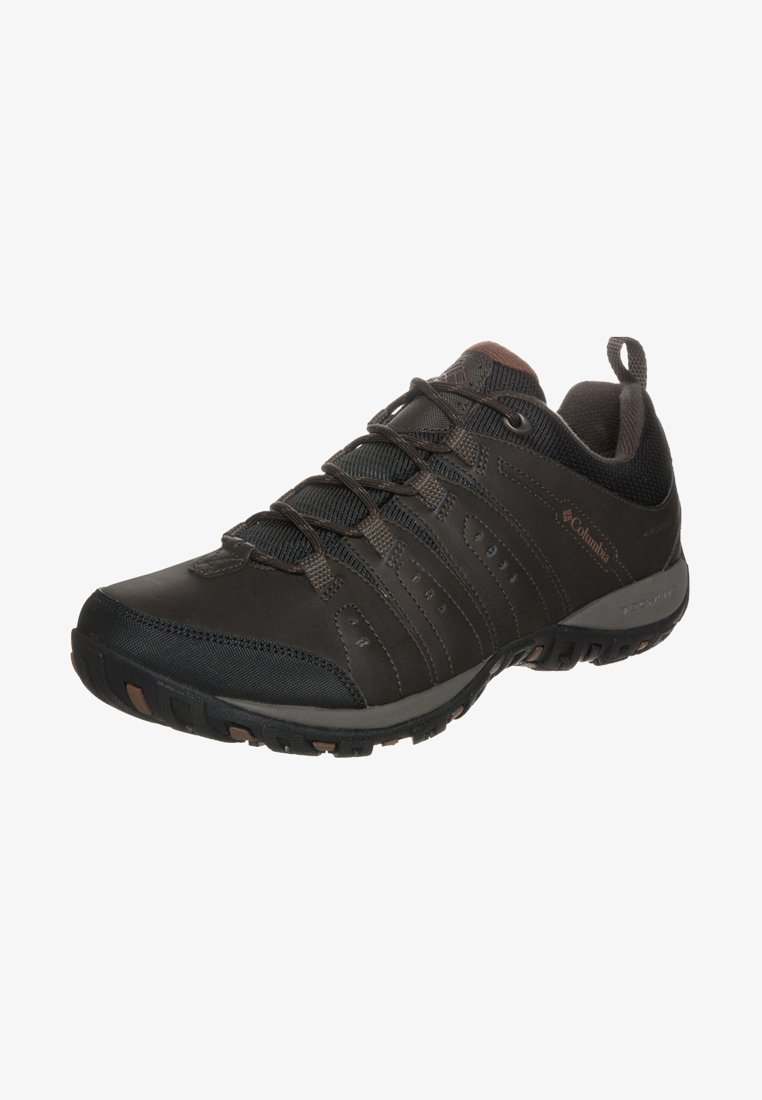 Columbia - WOODBURN II WP - Hiking shoes - cordovan/cinnamon