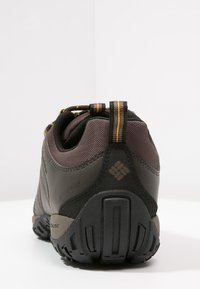 Columbia - PEAKFREAK VENTURE WATERPROOF - Obuwie hikingowe - dark brown - 3