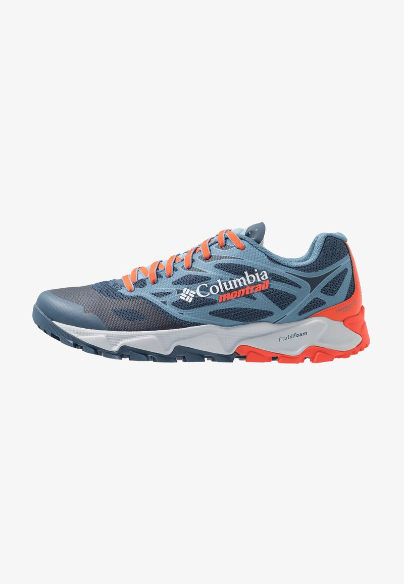 Columbia - TRANS ALPS F.K.T. II - Trail running shoes - zinc/red quartz