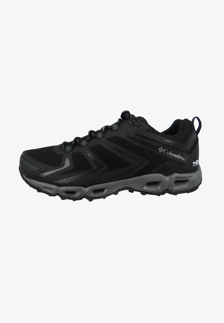 Columbia - VENTRAILIA 3 LOW OUTDRY - Hiking shoes - black lux