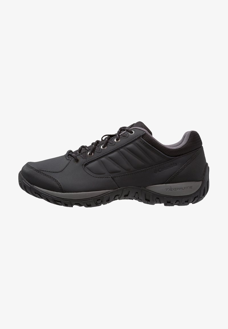 Columbia - RUCKEL RIDGE - Hiking shoes - black/city grey