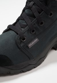 Columbia - CAMDEN OUTDRY CHUKKA - Chaussures de marche - black/grey - 5