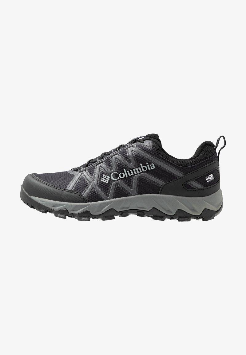 Columbia - PEAKFREAK X2 OUTDRY - Hiking shoes - black/ti grey steel