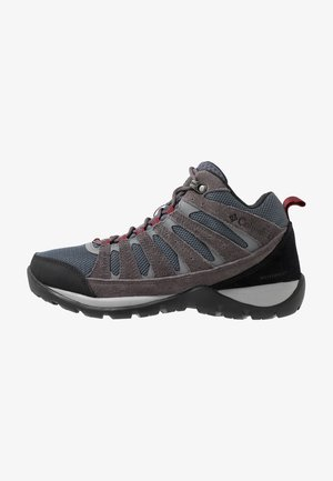 REDMOND V2 MID WP - Scarpa da hiking - graphite/red jasper