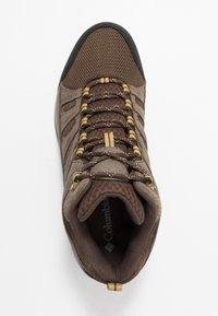 Columbia - REDMOND V2 MID WP - Hiking shoes - cordovan baker - 1
