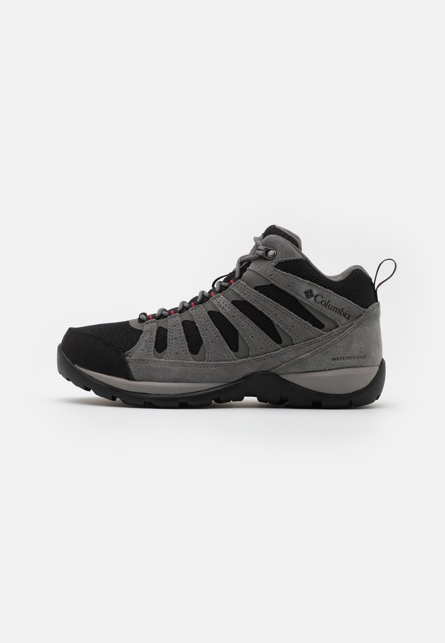 REDMOND V2 MID WP - Hikingschuh - black/rocket